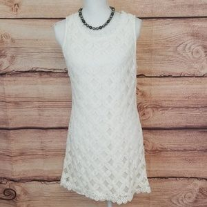 City Triangles lace dress